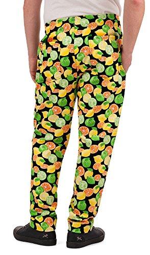 Men's Citrus Print Chef Pant (XS-3X) (Medium) by ChefUniforms.com (Image #1)