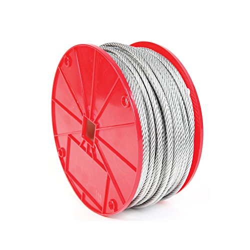 - Koch Industries 003252 7 x 19 Galvanized Cable, 5/16-Inch by 250-Feet