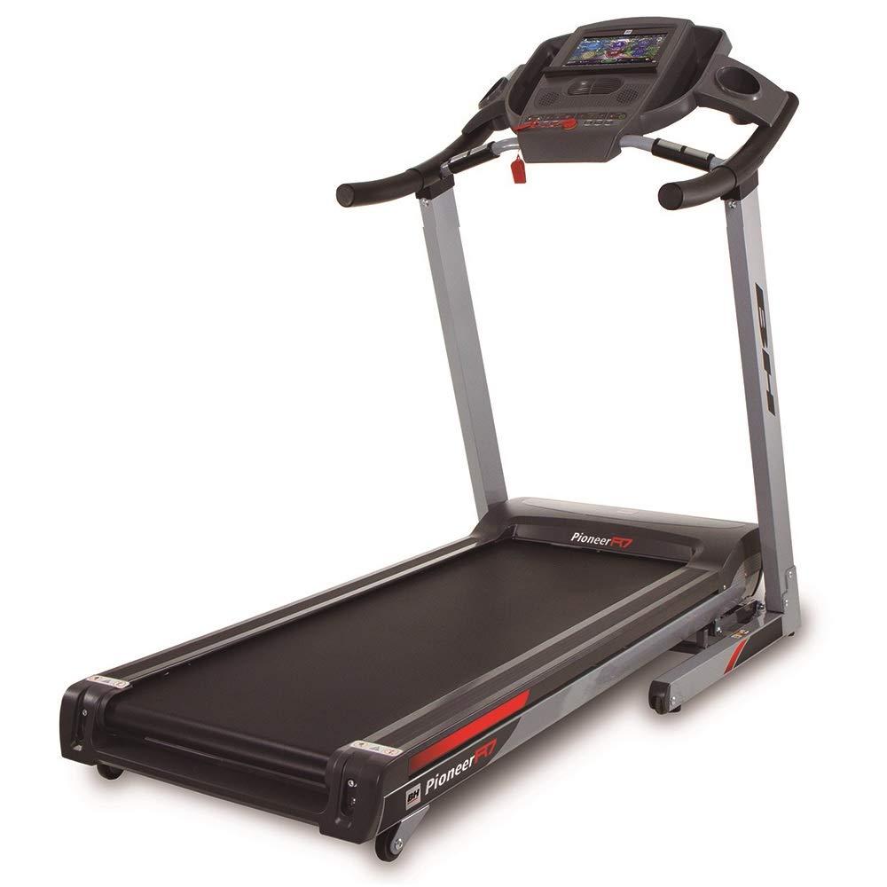 BH Fitness laufband klappbar Pioneer R7-3,5 PS-bis zu 20 km h-bis 130 kg Nutzergewicht-extra große lauffläche-G6586