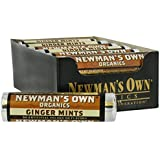 Newman's Own Mints, Og, Roll, Ginger, 0.75-Ounce (Pack of 12)