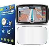 """GuarmorShield 3x Tomtom Go 600 6000 6"""" GPS Premium Clear LCD Screen Protector Guard Cover Film Kits (NO Cutting, Package by GUARMOR)"""