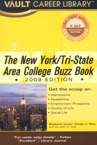 Vault New York/Tri-State Area College Buzz Book
