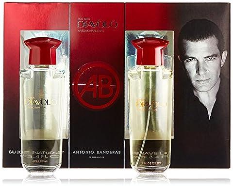 Antonio Banderas Diavolo for Men 2 Piece Gift Set - Antonio Banderas Fragrances