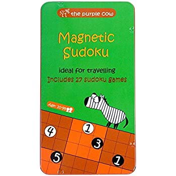 Magnetic Travel Original Sudoku Game - Car Games , Airplane Games and Quiet Games