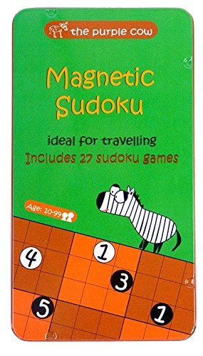 (The Purple Cow- Sudoku. Magnetic Game Box for Kids and Adults. Solve Hard Puzzles and Master Your Mind.)