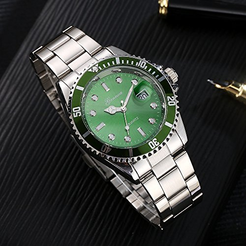 Mens Quartz Watches COOKI Clearance Analog Cheap Watches on Sale Stainless Steel Watches for Men-A02