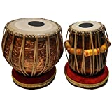 MUKTA DAS Professional Tabla Set | 4.0 Copper Bayan with Mahogany Dayan | Ships from U.S.