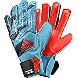 adidas Performance Ace Junior Goalie Gloves, Energy Blue/Black, Size 9