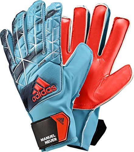 adidas Performance Ace Junior Goalie Gloves, Energy Blue/Black, Size 7