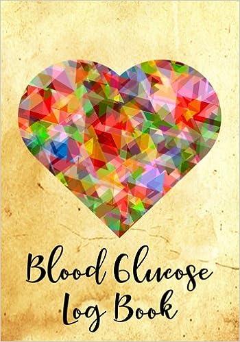 blood glucose log book blood sugar glucose tracker for diabetics
