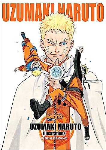 Amazon com: Uzumaki Naruto: Illustrations (9781421584393