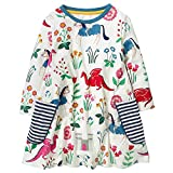 AILEESE Toddler Kids Baby Girls Halloween Lovely Jumper Skirt Unicorn Striped Flower Party Gown Casual Dance Dresses 2T-7T