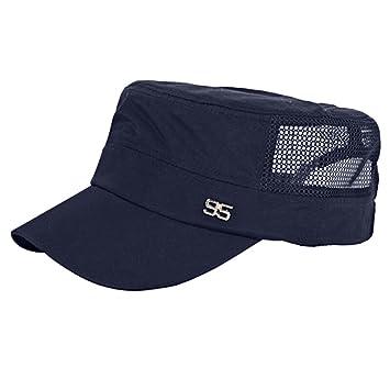 Herren Sportcap Cap Baseball Sommer Hut Sonnen Kappe Mütze Atmungsaktiv Strand