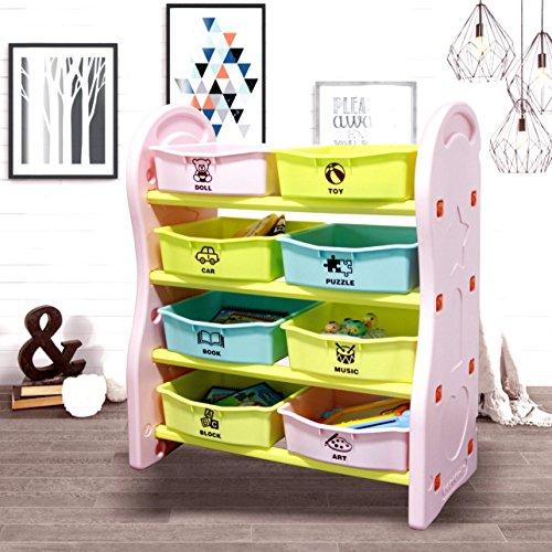 Gupamiga Toy Storage Organizer for Kids Collect...