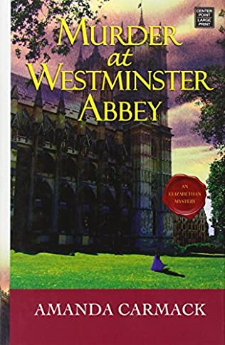 book cover of Murder at Westminster Abbey