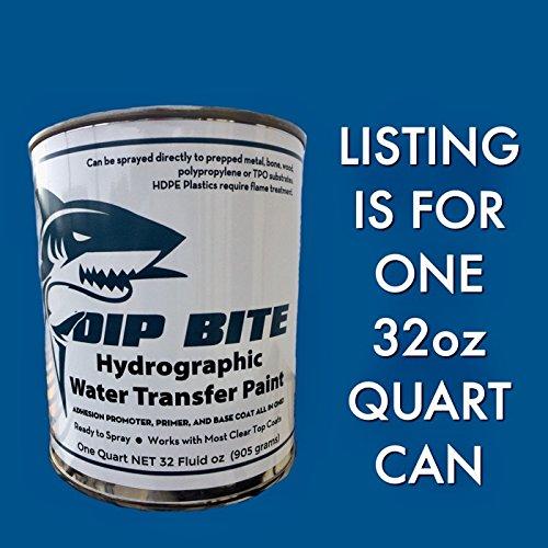 dip bite flat white 32oz quart can hydrographic water. Black Bedroom Furniture Sets. Home Design Ideas