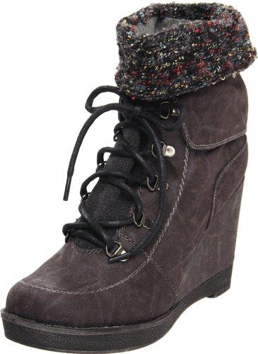 Grote Boeddha Dames Foxy Fashion Sneaker Zwart
