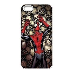 Spider Man Comic iPhone 4 4s Cell Phone Case White TPU Phone Case SY_732567