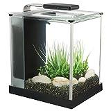 Fluval 10515 Spec III Aquarium Kit, 2.6-Gallon, Black