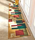 23'' x 120'' Extra Long Decorative Runner Rug Mat Boxes NEW --P#EWT43 65234R3FA526502