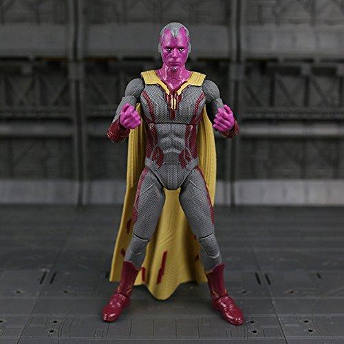 Aurookeb AO-26 Marvel Collect Captain America: Civil War Vision Figure 6