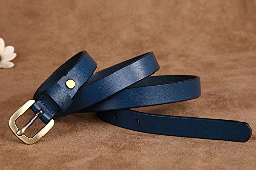 Vonsely Genuine Leather Belts for Dresses, Women Leather Fashion Belts for Pants