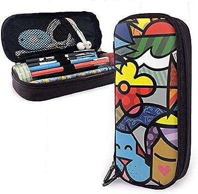 Caja colorida de la caja del lápiz de la caja de lápiz de las ...