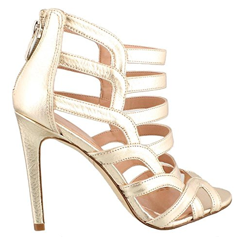 Enzo Angiolini Femmes Brien Sandale Or Clair
