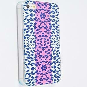 MOFY-Patr—n Leopard estuche r'gido de policarbonato para el iPhone 4/4S , Multicolor