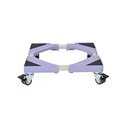 How To Measure Wheel Base >> Qy D 126 Universal Base Washing Machine Base Stainless Steel