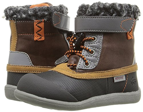 Pictures of See Kai Run Kids' Jack WP Hiking Boot Brown/Black 5T M US Boy 4