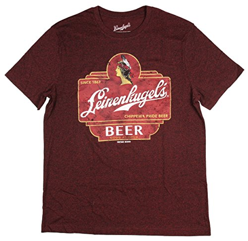 Leinenkugel's Chippewa Pride Beer Bottle Label T-Shirt - Beer Leinenkugels