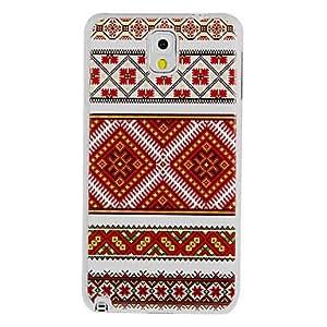 Conseguir Pintura plástica cubierta colorida de punto de cruz patrón duro de nuevo caso para Samsung Galaxy Nota 3 N9000