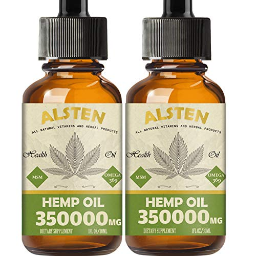 Image of 2 pack Hemp Oil - 350,000MG Hemp Oil Drops