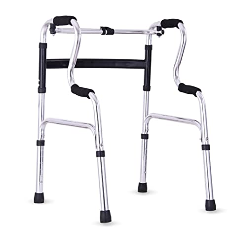 Ss Ancianos Walker Portátil Aluminio Andador De Aluminio ...