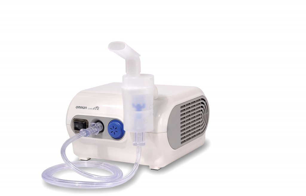 OMRON C28P - Inhalador compacto, resistente, tratamiento rápido con tiempo de inhalación corto product