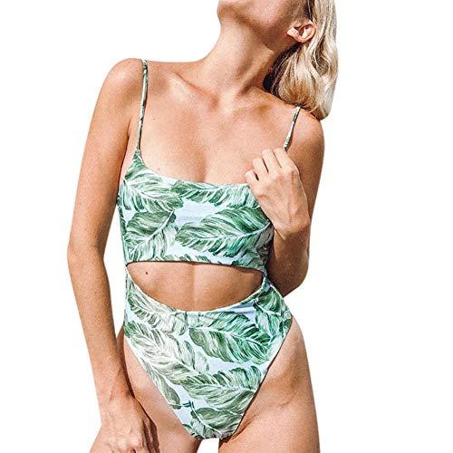Leopard Stampa Bagno Da Waist Donne Green Wanmei Bikini Brasiliano Costume Set yzhuang Sexy High Costumi Beachwear Leaf RqHX0