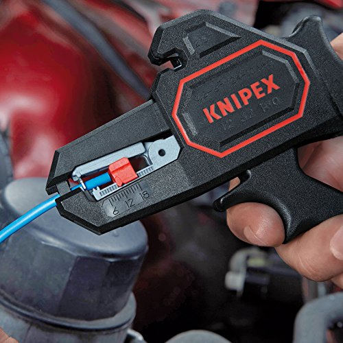 Knipex 1262180 Self Adjusting Insulation Strippers - Awg 10-24, 7.25 Inch by KNIPEX Tools (Image #3)