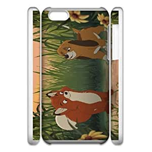 iphone6 Plus 5.5 3D Cell Phone Case White Fox and the Hound VC3XB2036046
