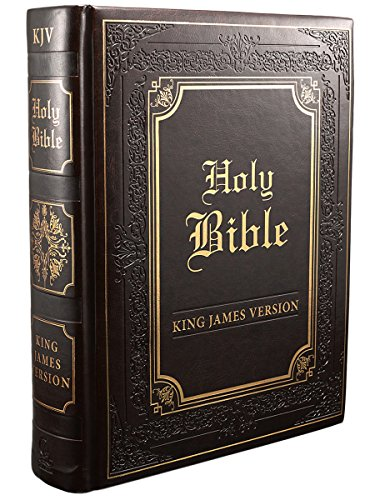 - King James Version Illustrated Edition Family Bible: Faux Leather Bound (King James Bible)