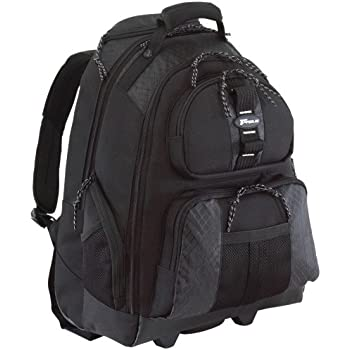 Amazon.com: Targus Compact Rolling Backpack for Laptops up to 16 ...