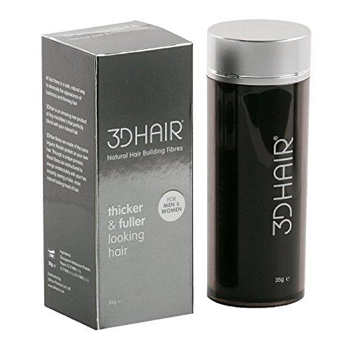 3D Hair Fibers 35g Black