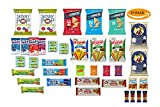 HEALTHY SNACKS, BAR AND GUMMIE VARIETY PACK by Thrive Grocery - assortment of 37 individually wrapped, full-size single serve snacks.