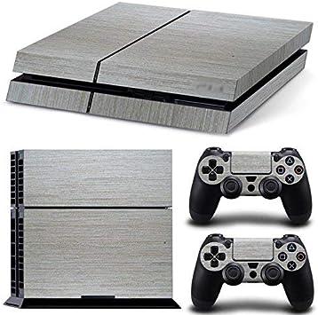 qkonsole PS4 Skin brillante plástico Diseño Sticker Playstation 4 vinilo protector de pantalla – mate: Amazon.es: Electrónica