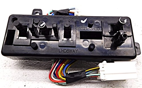 Genuine Hyundai 88521-3K002 Power Seat Switch Assembly, Front, Left