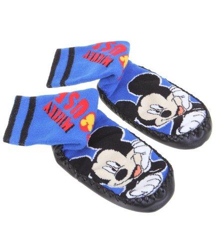 Disney Mickey Mouse Joven Caseta Calcetines Calcetines en 2 variantes y 3 Tamaños Azul azul: Amazon.es: Ropa y accesorios