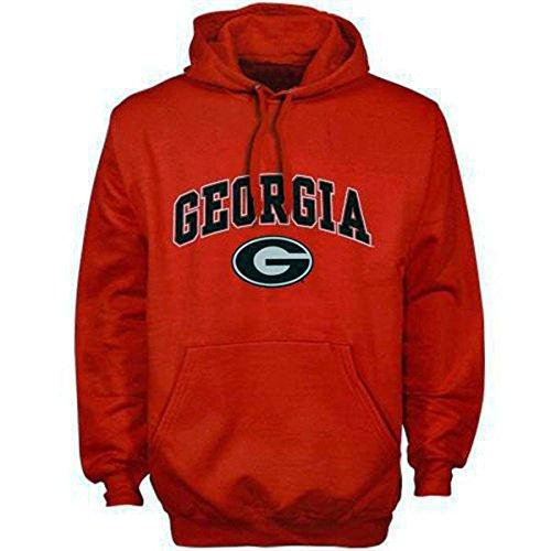 Georgia Bulldogs sudadera con capucha sudadera camiseta sombrero Jersey bandera Universidad ropa, rojo, large: Amazon.es: Deportes y aire libre