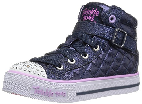 Skechers Kids Twinkle Toes Heart and Sole Light Up Sneake...