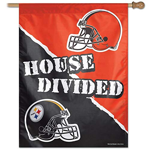 NFL Pittsburgh Steelers 20912015 Vertical Flag, Small, Black
