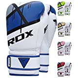 RDX Ego Boxing Gloves Muay Thai Training Maya Hide Leather Sparring Punching Bag Mitts kickboxing Fighting